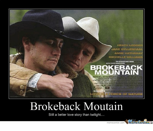 25 Best Memes About Anne Hathaway: 25+ Best Memes About Brokeback Mountain