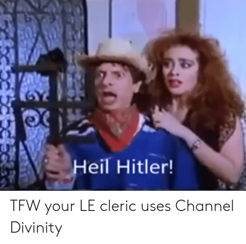 heil hitler: Heil Hitler! TFW your LE cleric uses Channel Divinity
