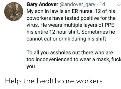Healthcare: Help the healthcare workers