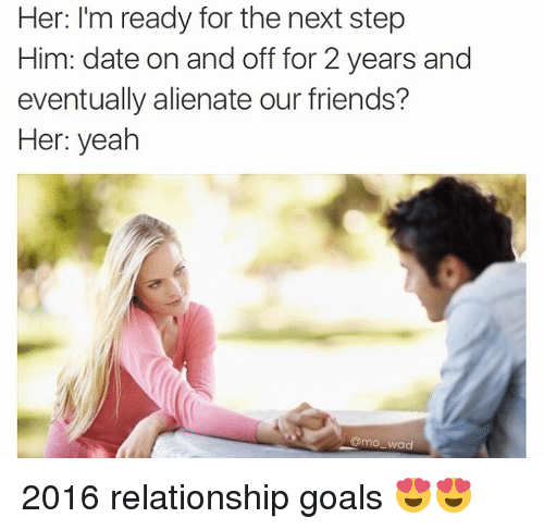 Dating her friend