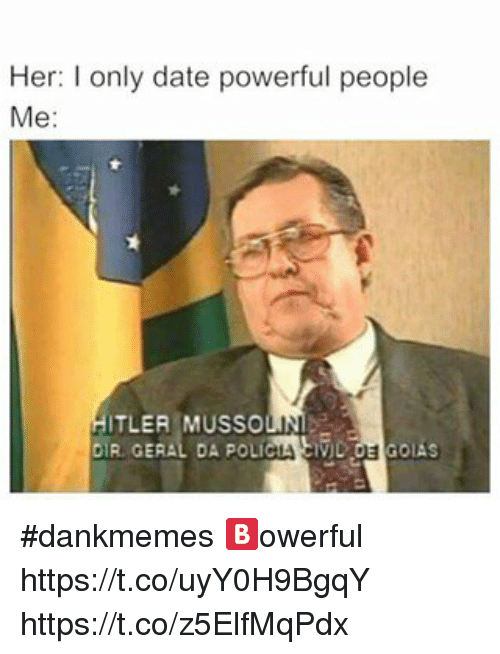 Dating a powerful man