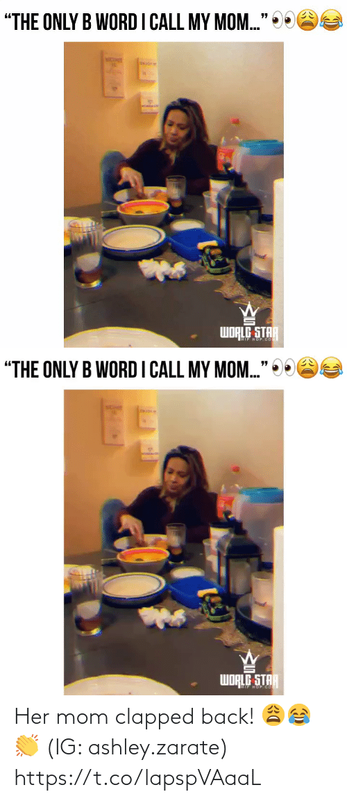 SIZZLE: Her mom clapped back! 😩😂👏 (IG: ashley.zarate) https://t.co/lapspVAaaL
