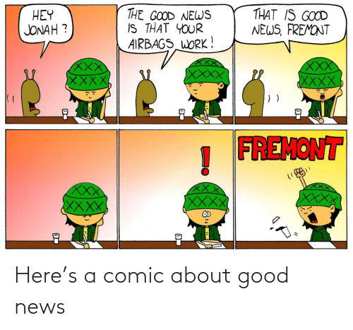 Good News: Here's a comic about good news