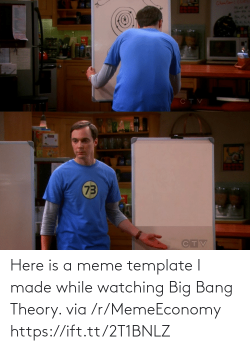 bang: Here is a meme template I made while watching Big Bang Theory. via /r/MemeEconomy https://ift.tt/2T1BNLZ