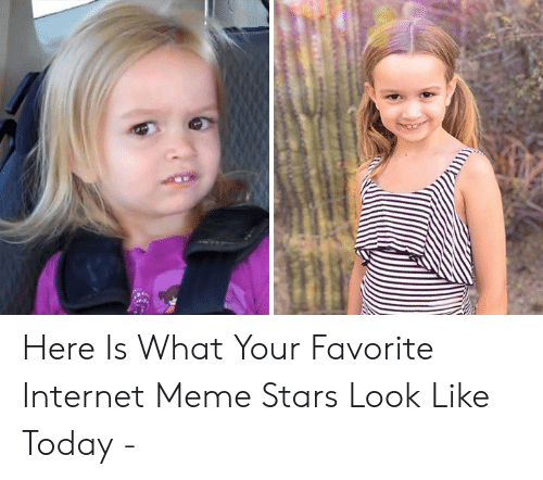 Side Eying Chloe: Here Is What Your Favorite Internet Meme Stars Look Like Today -