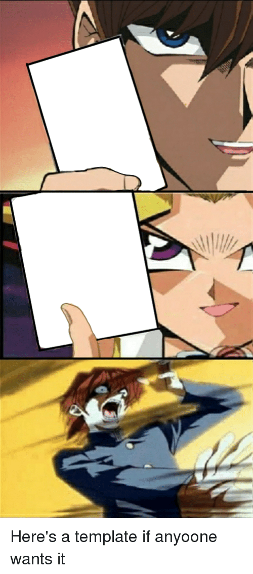 Anime and Template