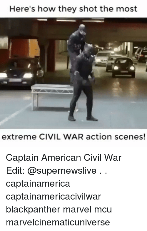 Memes, 🤖, and Mcu: Here's how they shot the most  extreme CIVIL WAR action scenes! Captain American Civil War Edit: @supernewslive . . captainamerica captainamericacivilwar blackpanther marvel mcu marvelcinematicuniverse