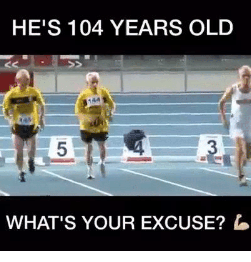 Funny: HE'S 104 YEARS OLD  WHAT'S YOUR EXCUSE?