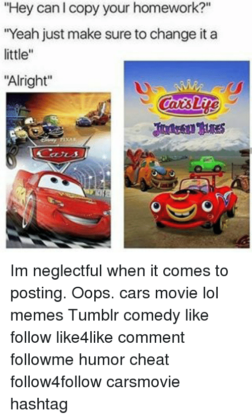 Mater Cars First One On The New Road Meme