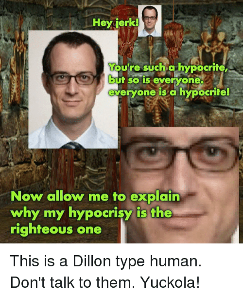 hypocrit Re fucking such a