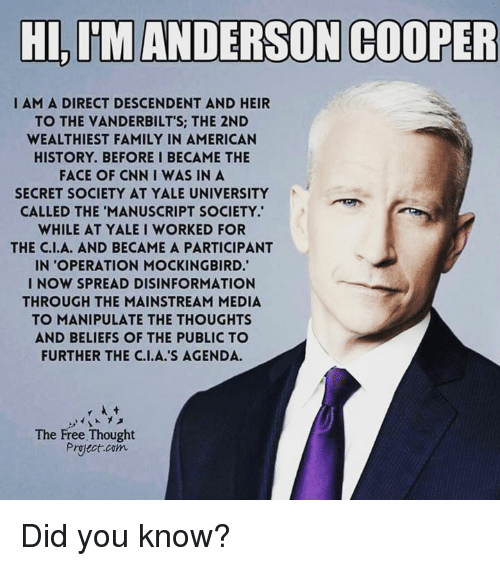 hi im anderson cooper i am a direct descendent and 4880890 hi im anderson cooper i am a direct descendent and heir to the