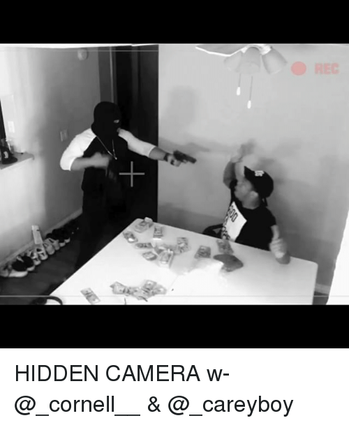 Memes, Camera, and 🤖: HIDDEN CAMERA w- @_cornell__ & @_careyboy