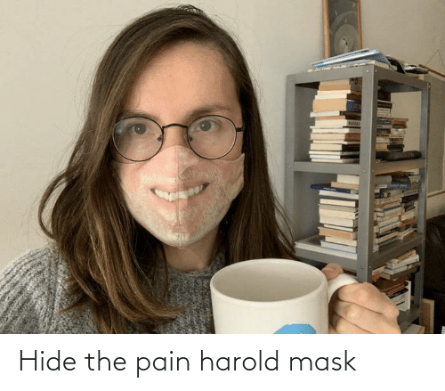 The Pain: Hide the pain harold mask