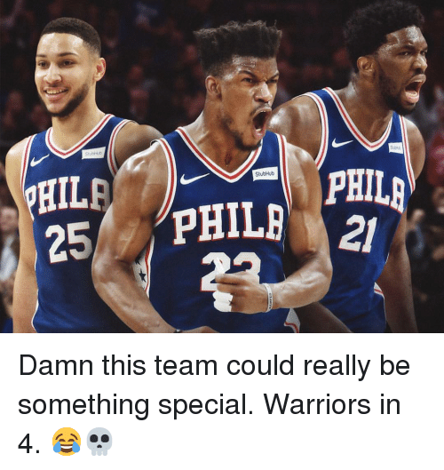 stubhub: HIL  25 PHIL PHIL  StubHub  21 Damn this team could really be something special. Warriors in 4. 😂💀