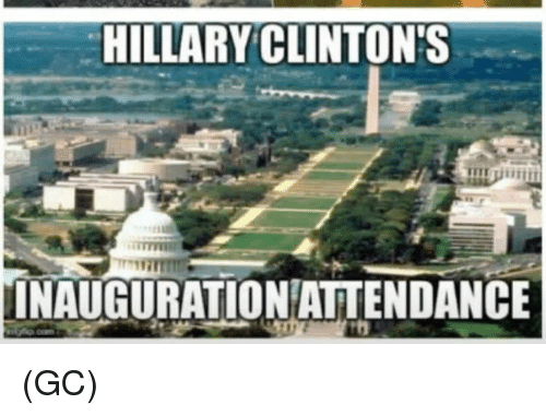 Bump when Bob (or anyone) posts #FakeNews Hillary-clintons-inauguration-attendance-gc-12558111