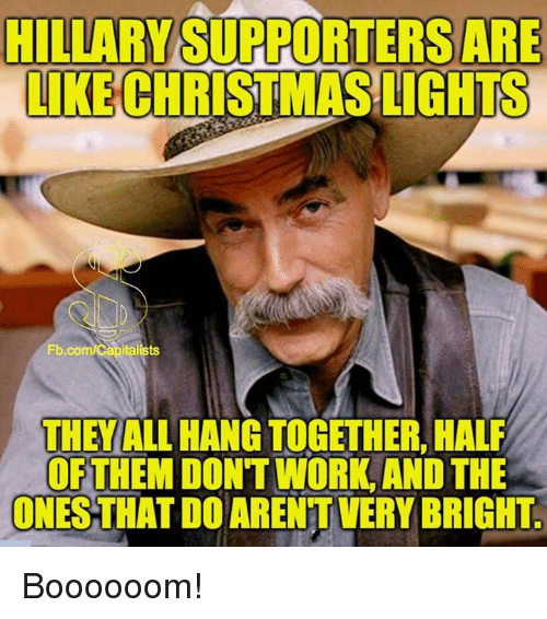 Co-Workers Are Like Christmas Lights They All Hang