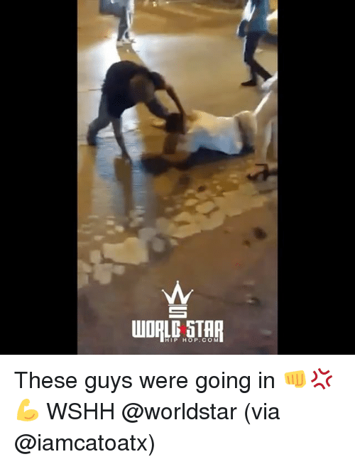 Memes, Worldstar, and Wshh: HIP HOP. C O M These guys were going in 👊💢💪 WSHH @worldstar (via @iamcatoatx)