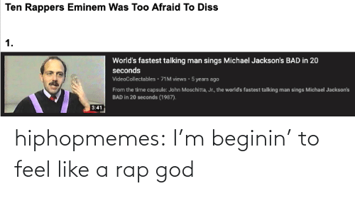 rap god: hiphopmemes:  I'm beginin' to feel like a rap god