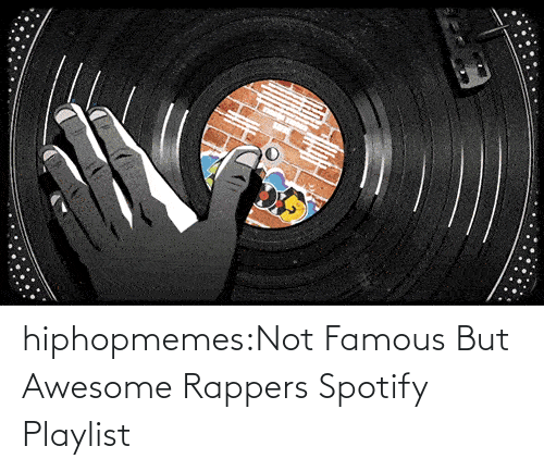 Rappers: hiphopmemes:Not Famous But Awesome Rappers Spotify Playlist