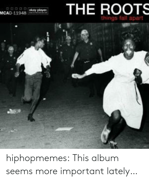 album: hiphopmemes:  This album seems more important lately…