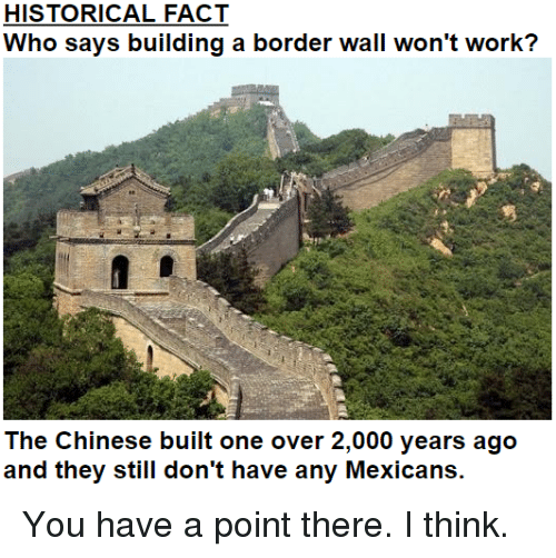 Image Result For Why Wont Building A Wall On Mexican Border Work