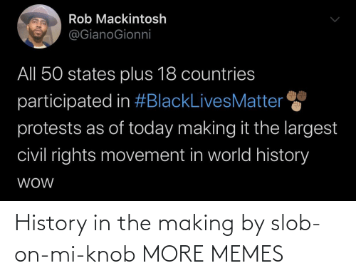 making: History in the making by slob-on-mi-knob MORE MEMES