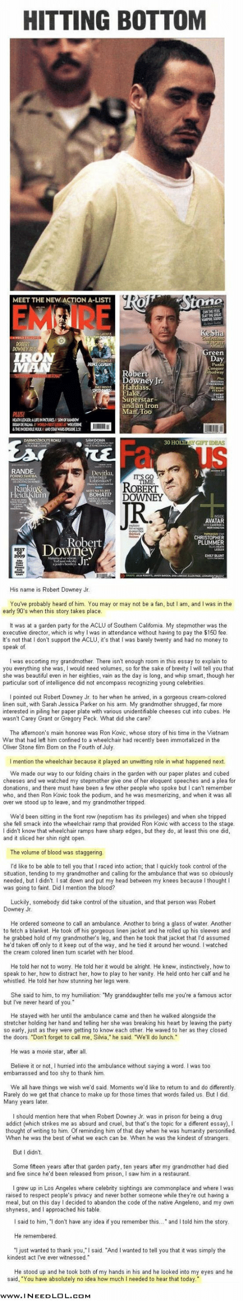 newsweek essay in our blood