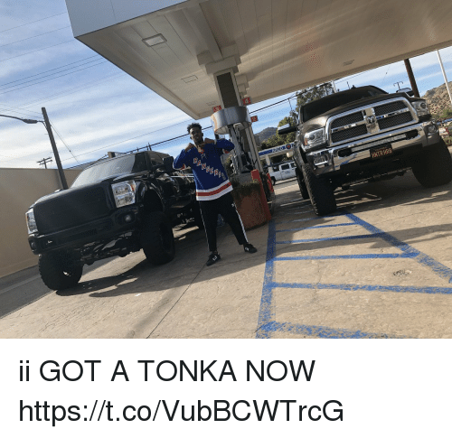 Memes, 🤖, and Got: HNTR HR8 ii GOT A TONKA NOW https://t.co/VubBCWTrcG