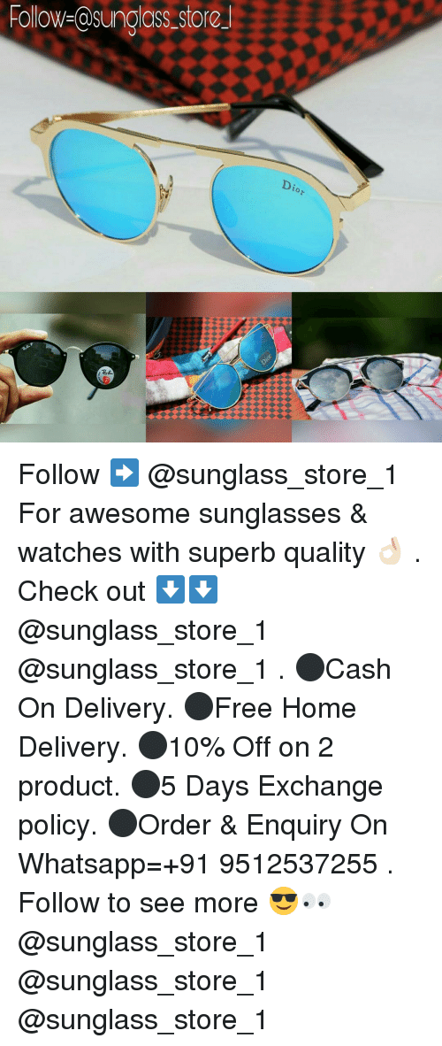 Dekh Bhai and International: Hollow- asunclass store  Dia Follow ➡️ @sunglass_store_1 For awesome sunglasses & watches with superb quality 👌🏻 . Check out ⬇️⬇️ @sunglass_store_1 @sunglass_store_1 . ⚫Cash On Delivery. ⚫Free Home Delivery. ⚫10% Off on 2 product. ⚫5 Days Exchange policy. ⚫Order & Enquiry On Whatsapp=+91 9512537255 . Follow to see more 😎👀 @sunglass_store_1 @sunglass_store_1 @sunglass_store_1