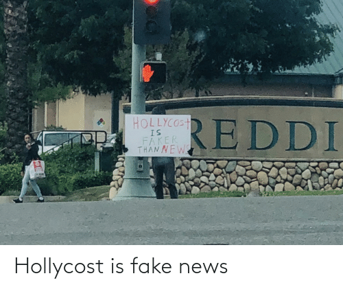 Fake News: Hollycost is fake news