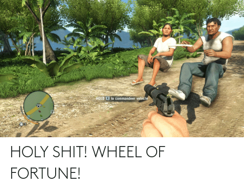 wheel of fortune: HOLY SHIT! WHEEL OF FORTUNE!
