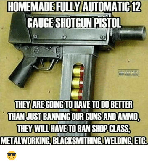 how to make automatic gun