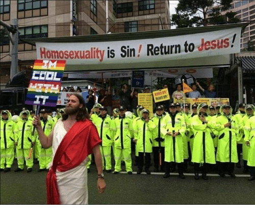 Jesus, Homosexuality, and Sin: Homosexuality is Sin Return to Jesus