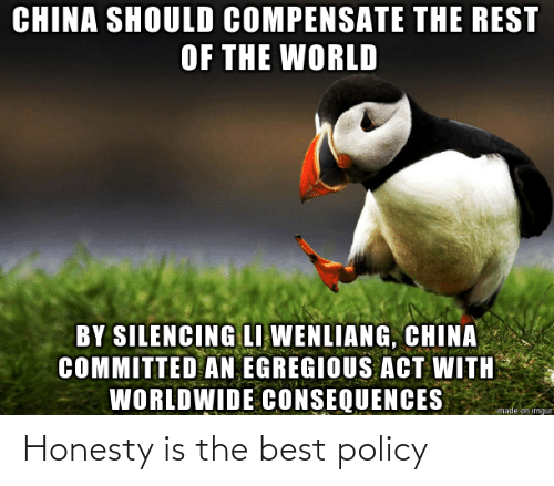 policy: Honesty is the best policy