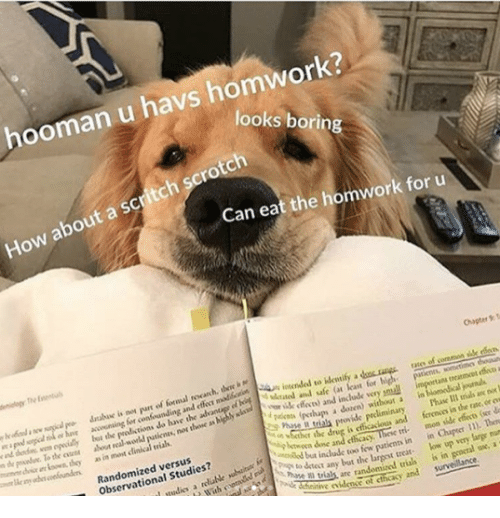 mun: hooman u havs homwork?  looks borin  How about a scritch scrotch  Can eat the homwork for u  Chaper T  atee of coremon sille rdo  accwining for confounding and e madloctSn in  lybt the  the oen about real workd  i  loan for  y ik feces) and include very pmuall  putienes, nos thone as highly sla  treatmcet effe a  i are  as in most clinical vials  r  pakos (pthups a dozen) without a in  Phase Il trials an no  r the drug is efficacious and ferenos in the rate, or ew  Randomized versus  Observational Studies?  btwoen done and cthcacy  tinow patienn in in Cher ). Ten  any bat the largest treat low up very large mun  as are randomized trias is in geocral ox, a  tie iden of cthcasy and survelance.