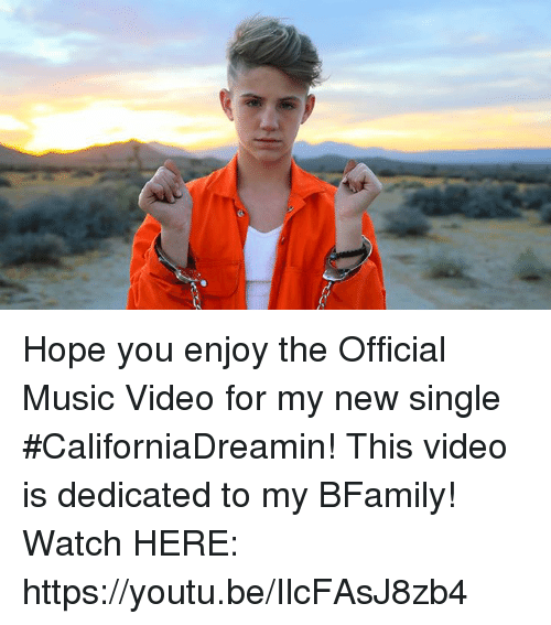 official music video