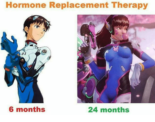 hormone replacement therapy: Hormone Replacement Therapy  6 months  24 months