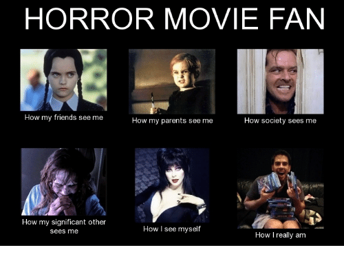 horror movie fan how my friends see me how my 5692881 🐸 25 best memes about horror movie, horror, and movies horror,Memes Horror
