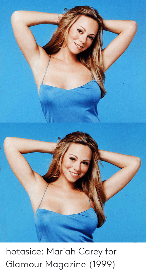 Carey: hotasice: Mariah Carey for Glamour Magazine (1999)