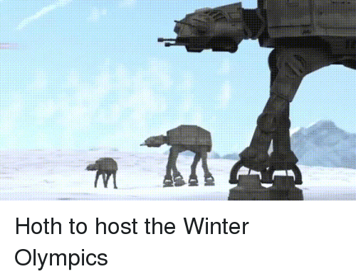Funny: Hoth to host the Winter Olympics