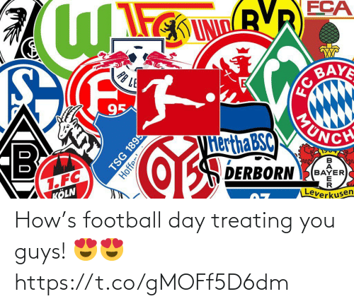 You Guys: How's football day treating you guys! 😍😍 https://t.co/gMOFf5D6dm