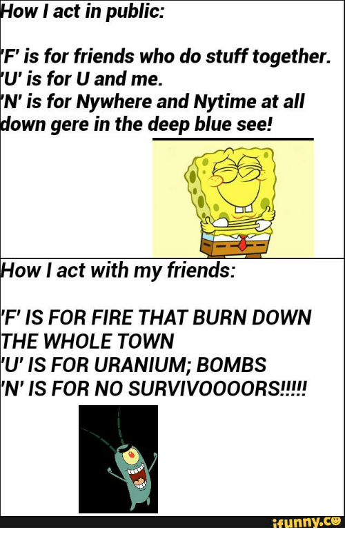 F Is For Fire That Burns Down The Whole Town