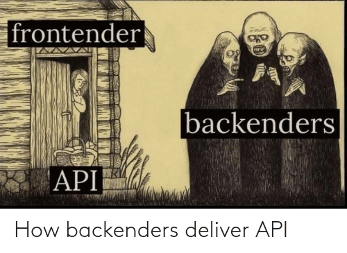 How, Api, and  Deliver: How backenders deliver API
