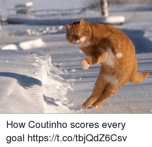 Soccer, Goal, and How: How Coutinho scores every goal https://t.co/tbjQdZ6Csv
