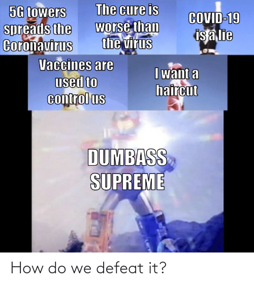 defeat: How do we defeat it?