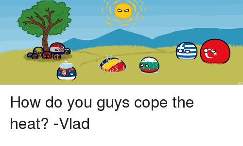 Dank, Heat, and 🤖: How do you guys cope the heat? -Vlad