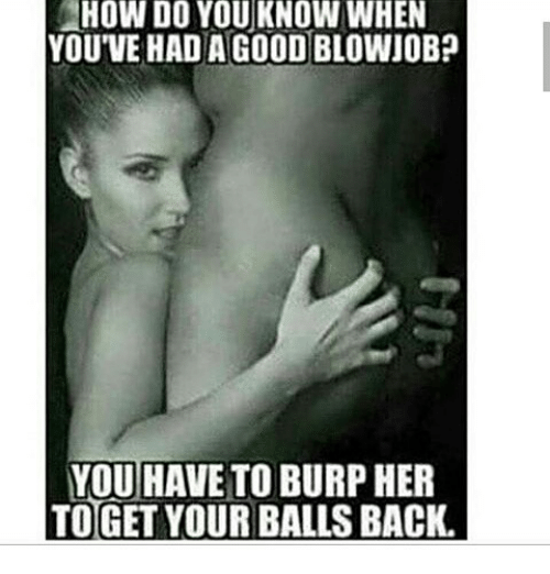 good blowjob