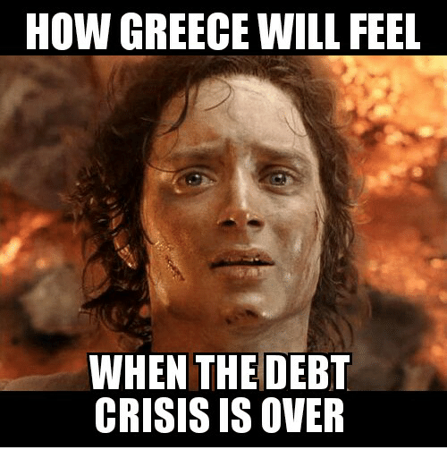 Glorious Greek Empire: HOW GREECE WILL FEEL  WHEN THE DEBT  CRISIS IS OVER
