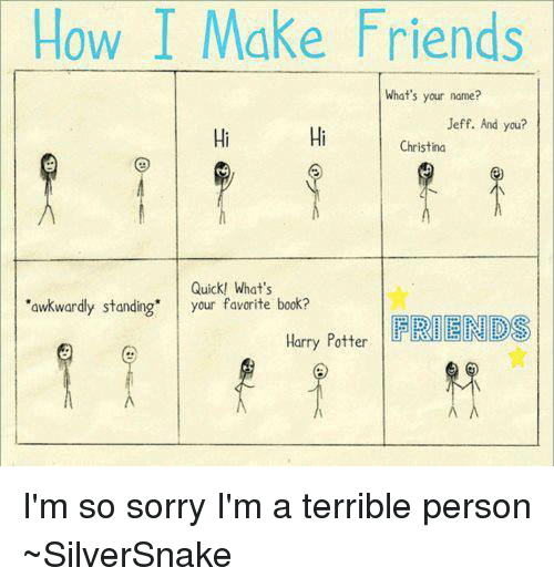 how to make new friends quickly