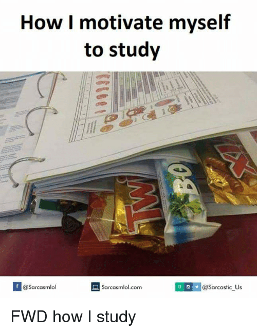 how to make myself study